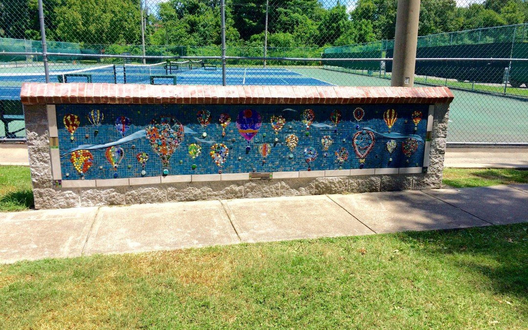 First Mosaic Wall Unveiled