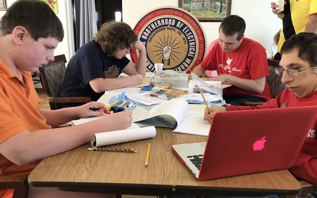 IBEW Works With Corporate Arts Project