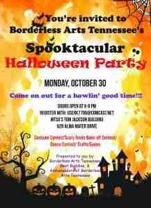 Borderless Arts TN Halloween