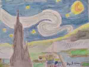 Following Van Gogh I