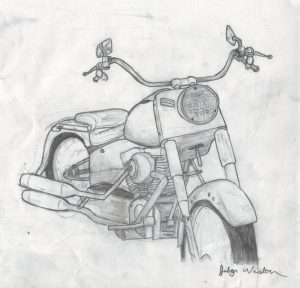 Motorcycle for Grandpa