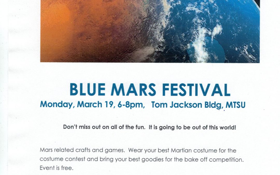 Blue Mars Festival