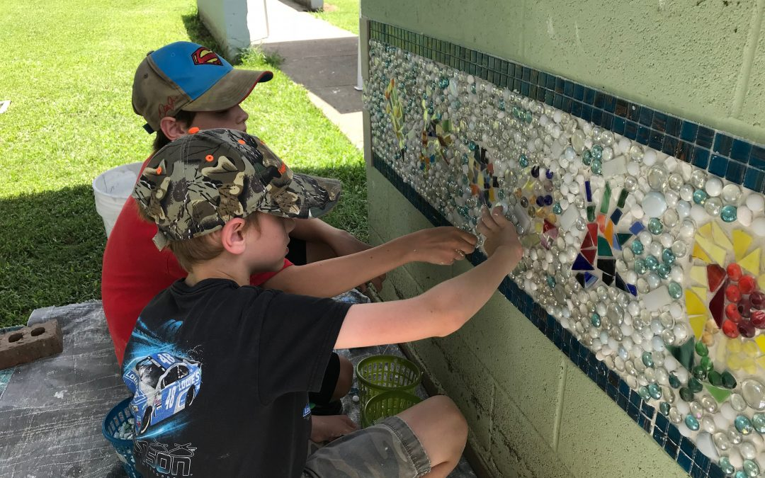 Update on Memorial Park Wall Project