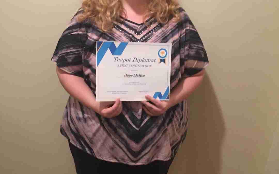 First Certificate Recipient
