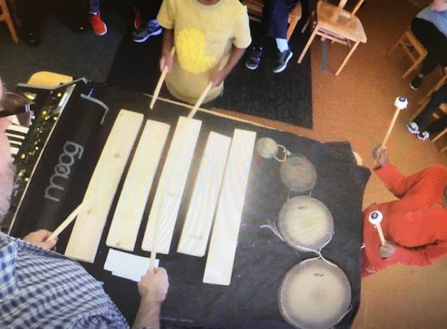 Bob Stagner Conducts Music Residency at Dawn School for Borderless Arts