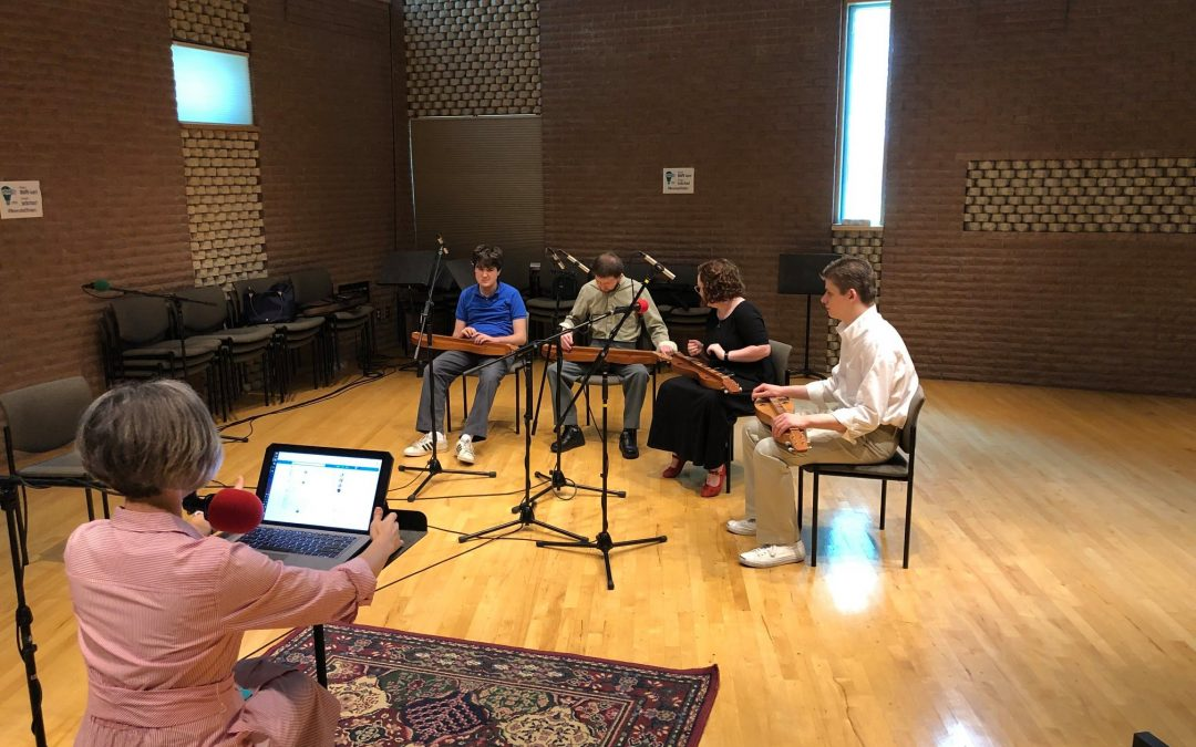 Borderless Arts/Blair School of Music Dulcimer Choir at Studio C