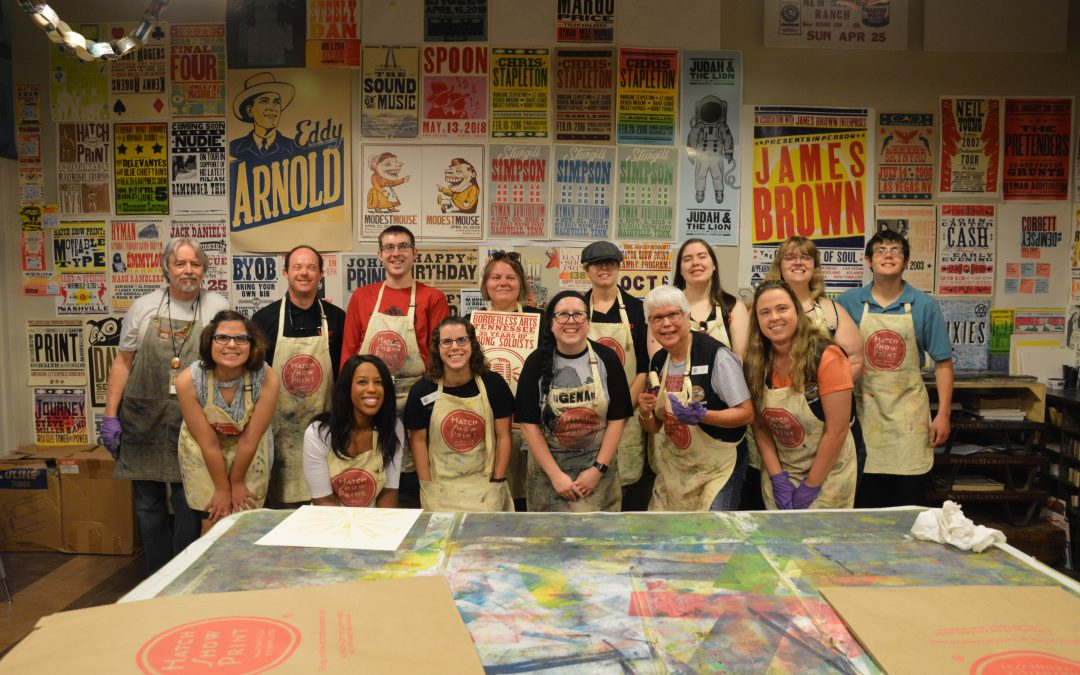 Hatch Print Provides Workshop