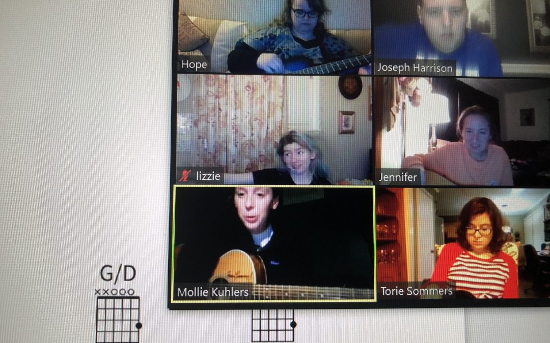 Join the New Guitar Choir
