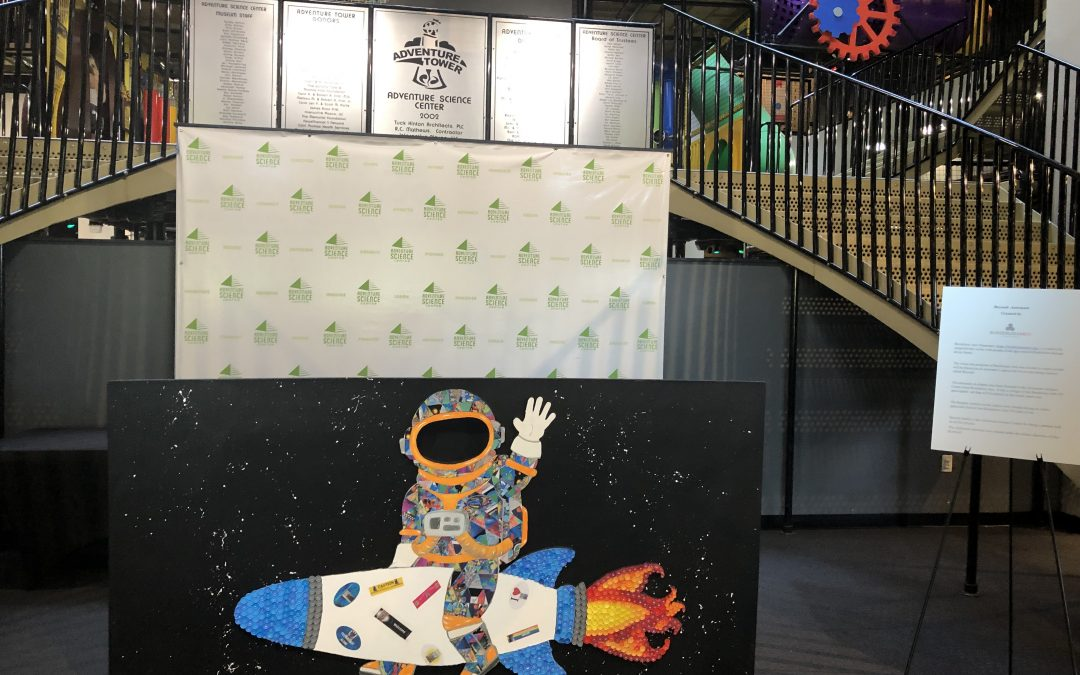 The Astronaut Goes to Adventure Science Center